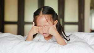 子ども 睡眠不足