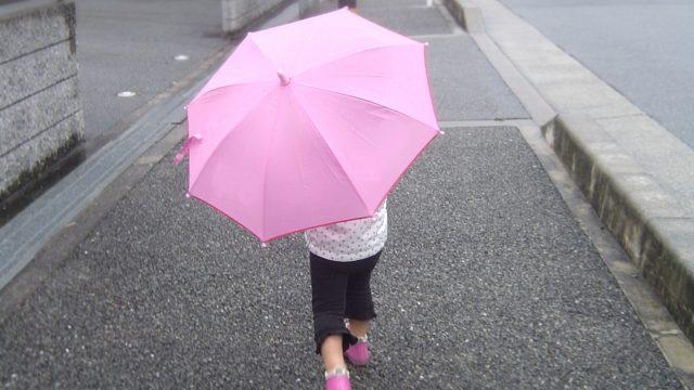 雨の日 子ども